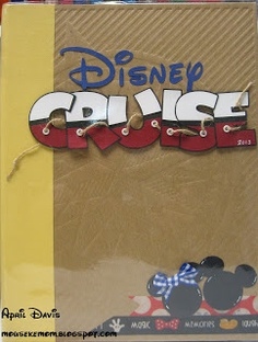 Disney Cruise SMASH folio cover