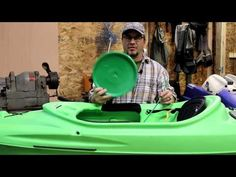 How To: Easy 10 Minute Sundolphin Kayak HDPE crack and hole repair Canoe, Welding, Kayaking, Boats, Plastic, Easy, Youtube, Soldering, Ships