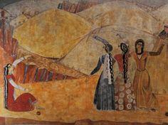 Minas Avetisyan - Spinning a thread List Of Paintings, Painter Artist, Art Thou, Armenia, Fresco, Folk Art, The Incredibles, Painters, Culture