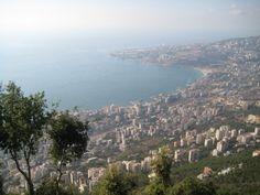 Bay of Jounieh, Lebanon