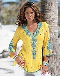 Tunic ~ Delicate, Delightful, Down Right Lovely! Put this one on the must have list too!