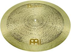 Meinl Byzance Jazz Cymbals Tradition Flat Ride B22TRFR Cymbals, 55.9 cm (22 Inches).