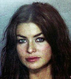 Carmen Electra  Actress Carmen Electra's mug was snapped on Nov. 5, 1999, after she and then beau Dennis Rodman allegedly got into a fight in a hotel. The couple was released on 2,500 bond after being booked in the Miami-Dade County Jail.