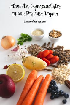 En esta entrada os enseñamos los alimentos que nunca faltan en nuestra despensa vegana. Son ingredientes saludables, ricos y económicos.