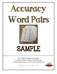 Do your students make a lot of VISUAL miscues, substituting words that are similar? Do your students need to boost their visual discrimination skills and practice their reading ACCURACY?