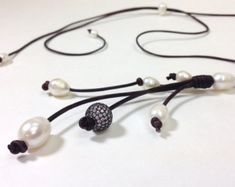 NahmFon de venta pavo real perlas y joyería de por AdiDesigns