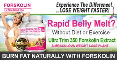 Forskolin Ultra Trim350 stimulates the production of CAMP and in turn helps in activating an enzyme called lipase which increases thermogenesis then leads to the speeding up of your metabolism of fat. #MetabolismBooster #DietControl #Weightloss