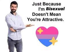 Bi Memes, Funny Memes, Jokes, Sorry Memes, Bisexual Pride, Mood Pics, Board, Lgbt Community, Text Posts