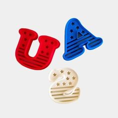 Download on https://cults3d.com #3Dprinting #Impression3D USA Cookie Cutter (4th of July Special Edition) STL model, OogiMe
