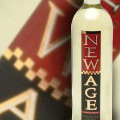 This bottle New Age White wine is my choice for starting my dinner party.