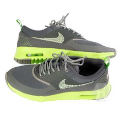 from wanelo.com · NIKE Air Max Thea 2014 Volt White Grey Lime 6f9310fdce