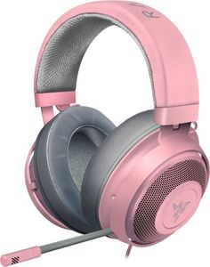 Gaming Headset, Gaming Headphones, Kraken, Xbox One, Nintendo Switch, Wireless Computer Mouse, Pink Headphones, Cable Audio, Thick Headbands