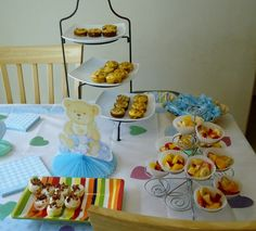 baby shower finger foods ideas for girls broccoli and cheese cupcakes