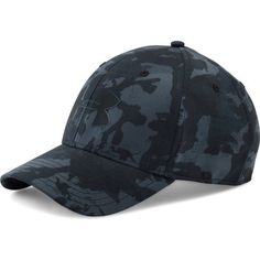 Under Armour Men\'s UA Storm Closer Cap (1,485 INR) ❤ liked on Polyvore featuring men's fashion, men's accessories and men's hats