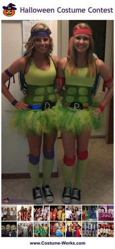 Ninja Turtles - a lot of DIY costume ideas for groups!