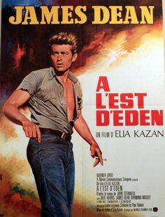 Cinema Poster - East of Eden, James Dean
