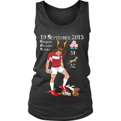 Rugby World Cup 2015 - Japan's Triumph - Tank (Women) - Designer Tess - 1 Rugby World Cup, Designing Women, Japan, Shirts, Clothes, Outfits, Clothing, Japanese Dishes, Clothing Apparel