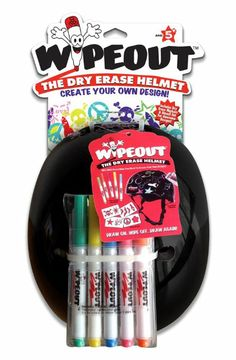 Amazon.com: Wipeout Dry Erase Helmet: Sports & Outdoors $30
