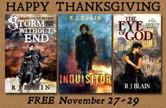 Three novels free for the holidays!