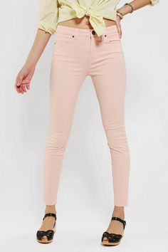 #UrbanOutfitters          #Women #Bottoms           #bdg #high-rise #twig #stretchy #5-pocket #spandex #twill #thigh #hip #fitted #skinny #stretch #pant #soft #fit #super            BDG Twill Twig High-Rise Pant                       Overview:* 5-pocket twill pant cut super skinny from BDG* Our skinniest fit; sits just above the hip* Fitted through the hip and thigh; super skinny leg* Added spandex for stretch and movement* Tapered through the super skinny leg* Soft, stretchy co…