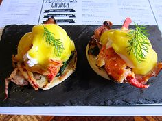 Bull and Claw: Lobster Eggs Benedict in #Shanghai