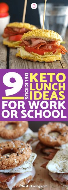 Keto lunches are a great way to stay on track and in ketosis when doing the ketogenic diet. When you're looking for a keto lunch these recipes will help you out. Low Carb Lunch, Low Carb Diet, Ketogenic Recipes, Low Carb Recipes, Receitas Crockpot, Menu Dieta, Keto Lunch Ideas, Lunch Recipes, Breakfast Recipes