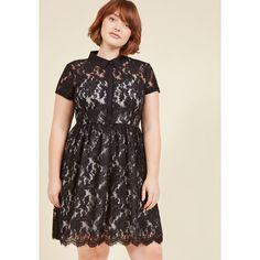 Riveting Contributor Shirt Dress (£78) ❤ liked on Polyvore featuring dresses, apparel, fashion dress, varies, short sleeve shirt dress, short-sleeve lace dresses, t-shirt dresses, lace slip and shirt dresses