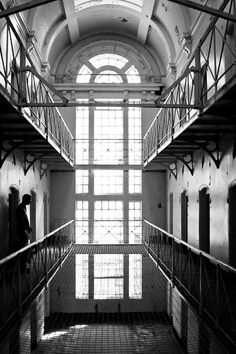 Photos of Oxford Prison 'A' Wing Prior to rebirth as Malmaison Hotel © Quintin Lake