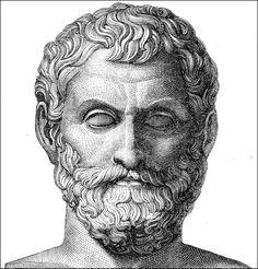 Tales de Mileto - foi um filósofo da Grécia Antiga, o primeiro filósofo ocidental de que se tem notícia. De ascendência fenícia,[carece de fontes] nasceu em Mileto, antiga colônia grega, na Ásia Menor, atual Turquia, por volta de 623 a.C. ou 624 a.C. e faleceu aproximadamente em 556 a.C. ou 558 a.C.. Tales é apontado como um dos sete sábios da Grécia Antiga.