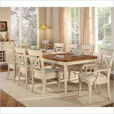 Wynwood Garden Walk Rectangular Dining Table in Latte  - 6634-30 - Lowest price online on all Wynwood Garden Walk Rectangular Dining Table in Latte  - 6634-30