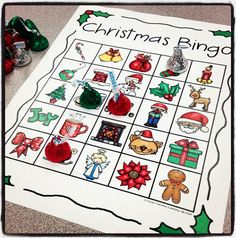 NO PREP Christmas Bingo Activity for your Holiday party!