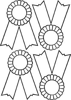 learningenglish-esl: STARS, BADGES & PINS (B & W)