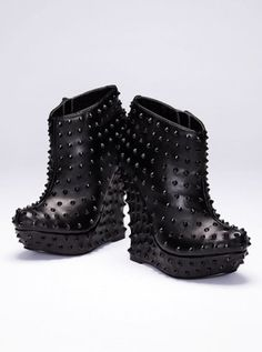 Studded Wedge Bootie - Colin Stuart� - Victoria's Secret by DrawPaintWear