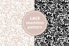 Seamless Lace Pattern by Prikhnenko on @creativework247