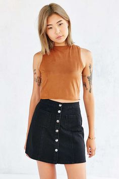 Ecote Valley Cropped Top - Urban Outfitters