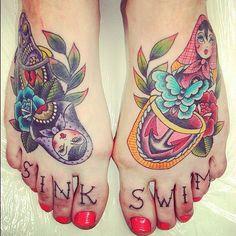#russiandoll #tattoo #feet