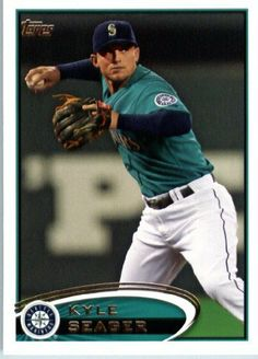 2012 Topps Baseball Card # 645 Kyle Seager - Seattle Mariners - MLB Trading Card by Topps. $1.82. Single 2012 Topps Baseball Trading Card. Card shipped in Top Load and/or Soft sleeve to protect it during shipping. Screwdown Cases SOLD SEPARATELY. NOTE: Stock Photo Used. Contact seller if there is no image or you have questions. Card is NM-MT Condition or Better. Look for thousands of other great sportscards of your favorite player or team. 2012 Topps Baseball Ca...