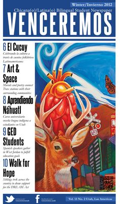 Cover art- Ruby Chacon     Winter Issue 2012