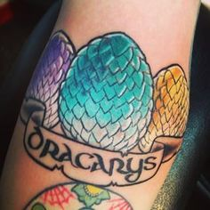 "14 Incredible ""Game Of Thrones"" Tattoos That Are To Die For"