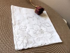 Vintage Wedding HandkerchiefSomething by 3OldeBroads on Etsy, $18.00