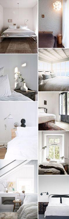 bedroom decor inspiration. / sfgirlbybay