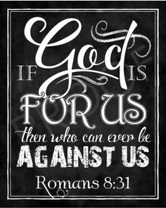 Scripture Art Romans Chalkboard by ToSuchAsTheseDesigns Chalkboard Scripture, Chalkboard Typography, Scripture Quotes, Bible Art, Bible Scriptures, Faith Quotes, Chalkboard Quotes, Biblical Quotes, Christian Quotes