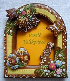 Czech Easter gingerbread cookie