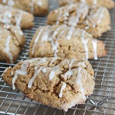 Healthy gingerbread scones
