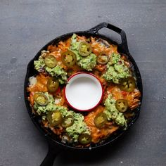 "Loaded Eggplant ""Nachos"""