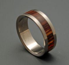 Standing still    Minter + Richter   Titanium Rings - Wooden Wedding Rings   Titanium Rings   Minter + Richter