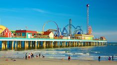 Beach Pictures: View Images of Galveston Island Historic Pleasure Pier