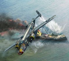 North American B-25J by Jerry Boucher