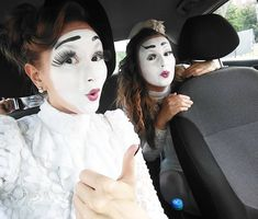 Mime Makeup, Goth, Clowns, Gothic, Goth Subculture