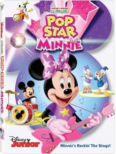 Enter to win a FREE Copy of Mickey Mouse Clubhouse: Pop Star Minnie on DVD. This animated movie will teach kids about music & instruments.